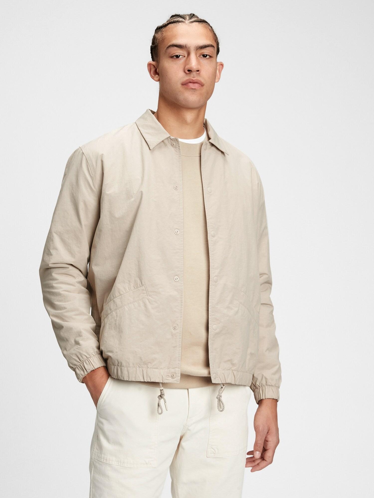 GAP béžové pánska bunda - XL