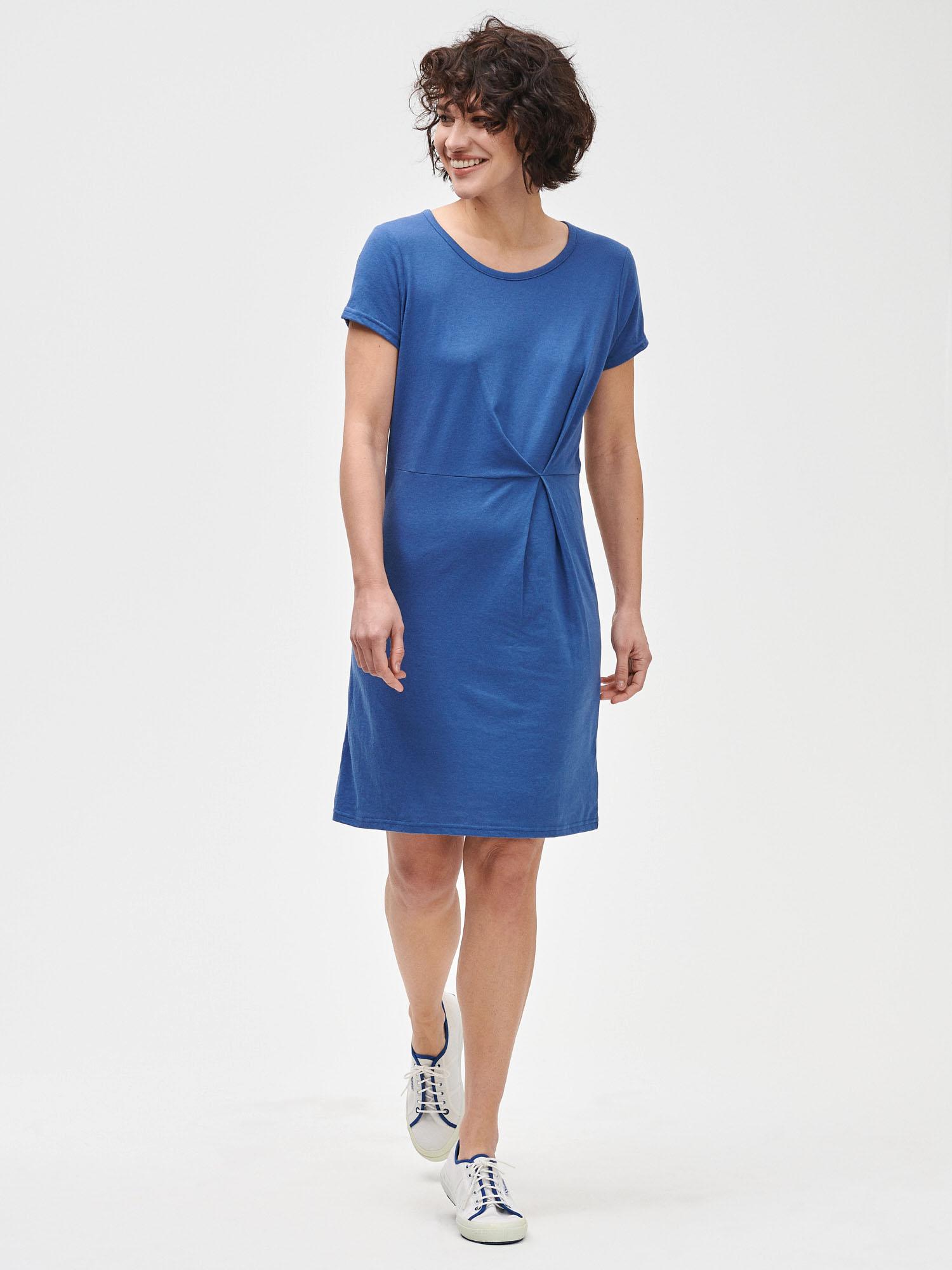 GAP modré basic šaty - M