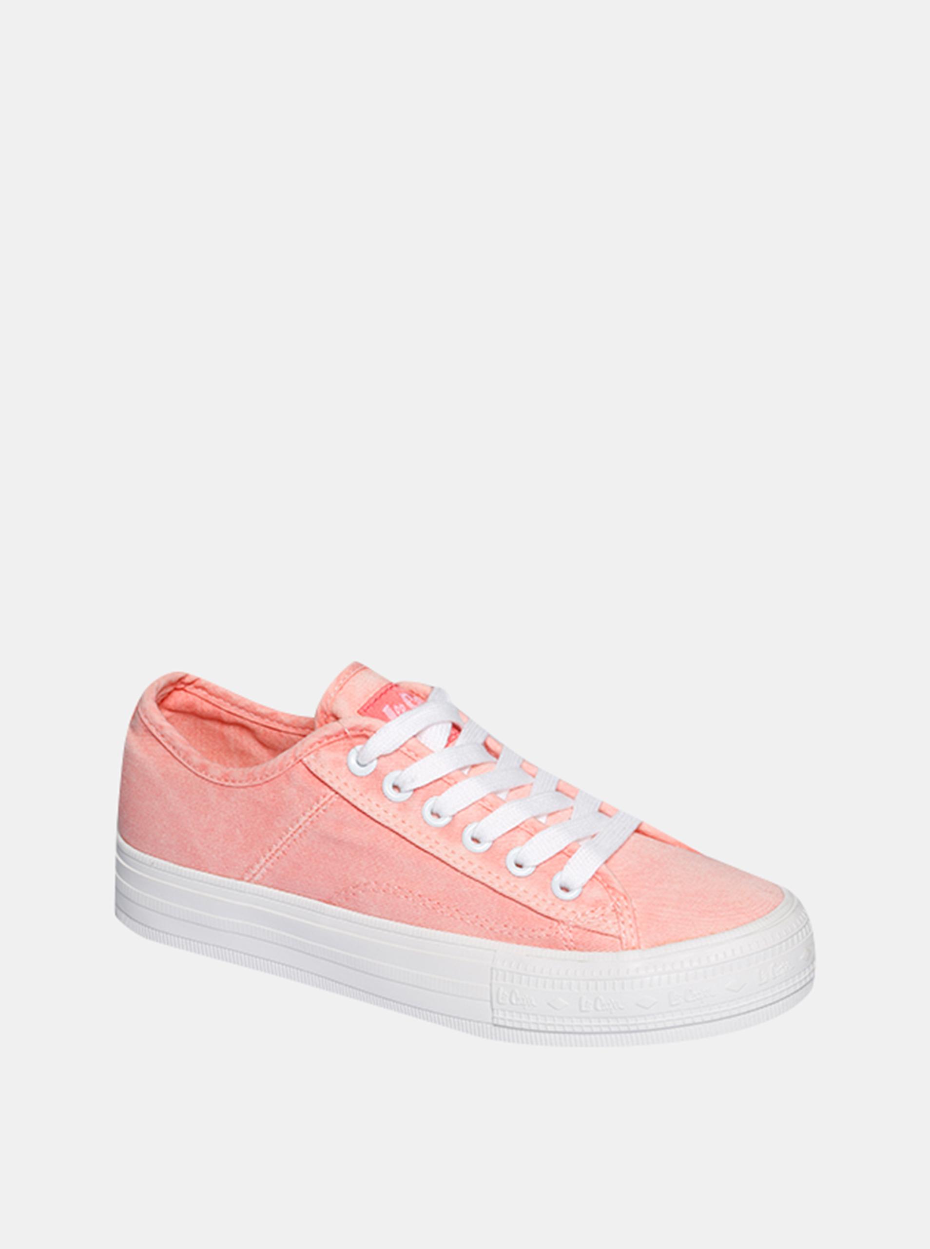 Ružové dámske tenisky Lee Cooper - 38